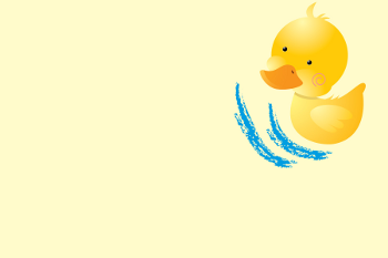 Printable Rubber Ducky Invitations BACK