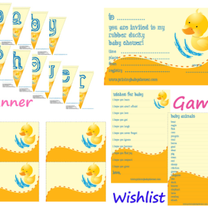 rubber ducky printables