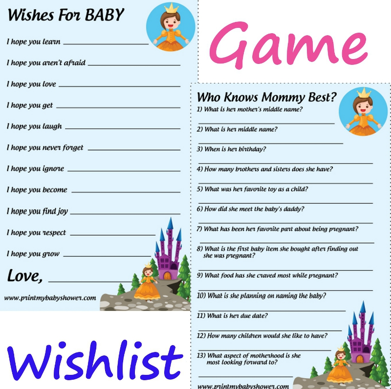 baby shower games to print unique and fun printable baby shower ...