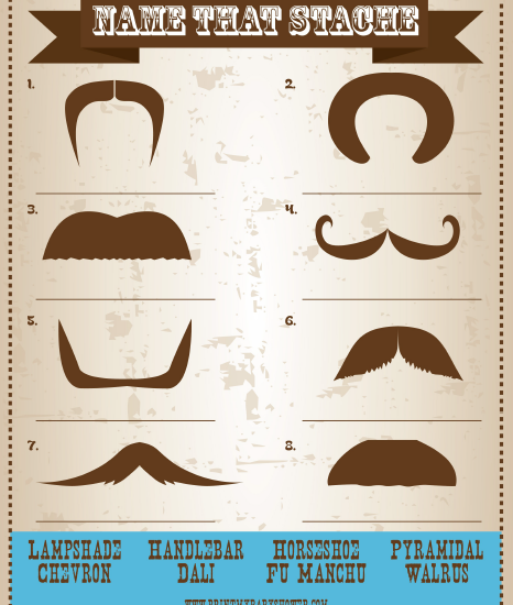 Match The Mustache Bash Game